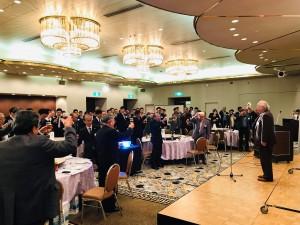 2018総会乾杯の風景