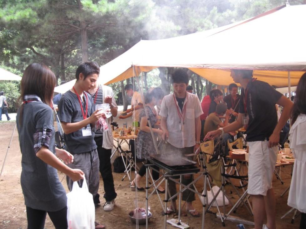 【東京】2009年8月30日『カッコいい大人になろうプロジェクト第一弾 オトナBBQ』