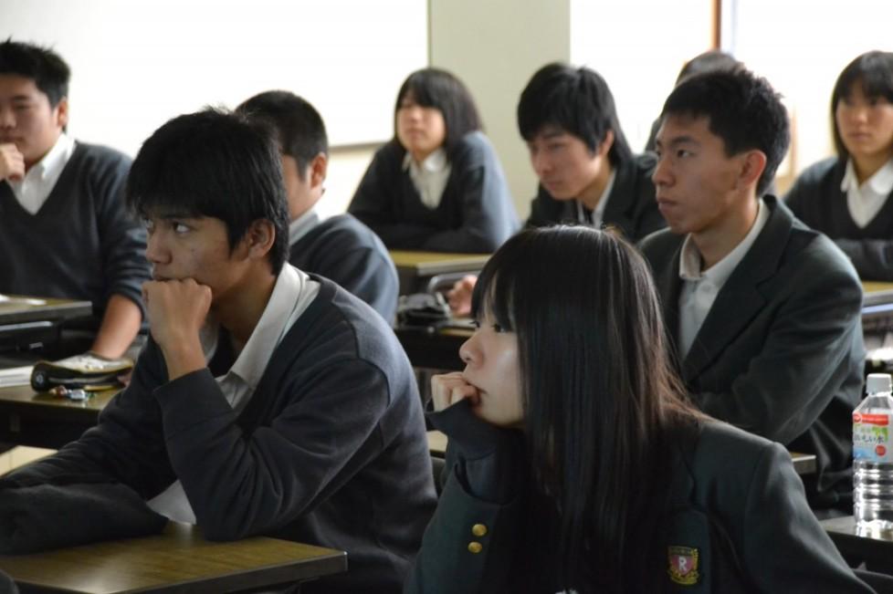 高校生対象キャリア教育企画「授業+R2013」(立命館宇治高校)が開催されました!