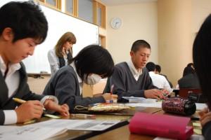 2010_1210事前授業風景①