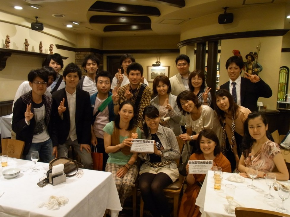 「2011年度東海エリア新校友歓迎会」開催しました!